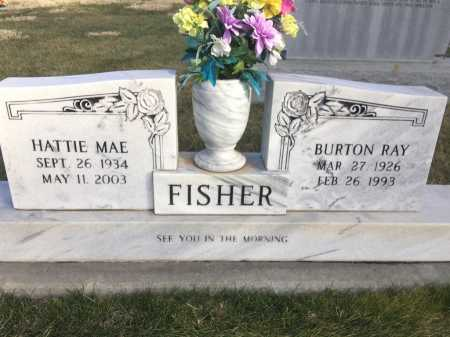 FISHER, HATTIE MAE - Dawes County, Nebraska | HATTIE MAE FISHER - Nebraska Gravestone Photos