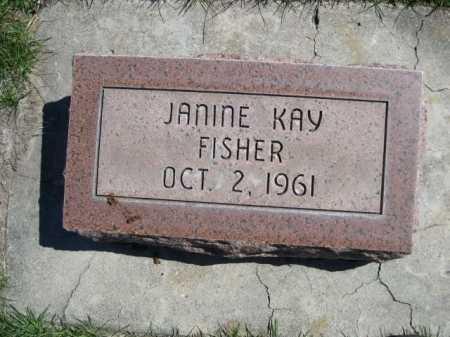 FISHER, JANINE KAY - Dawes County, Nebraska | JANINE KAY FISHER - Nebraska Gravestone Photos