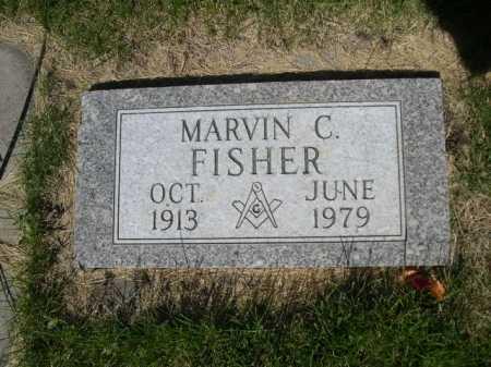 FISHER, MARVIN C. - Dawes County, Nebraska   MARVIN C. FISHER - Nebraska Gravestone Photos