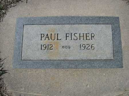 FISHER, PAUL - Dawes County, Nebraska | PAUL FISHER - Nebraska Gravestone Photos
