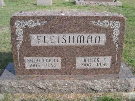 FLEISHMAN, KATHERINE M. - Dawes County, Nebraska | KATHERINE M. FLEISHMAN - Nebraska Gravestone Photos