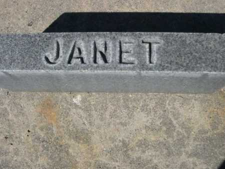 FLEMING, JANET - Dawes County, Nebraska | JANET FLEMING - Nebraska Gravestone Photos
