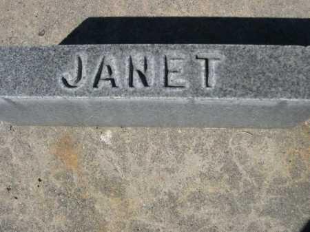 FLEMING, JANET - Dawes County, Nebraska | JANET FLEMING - Nebraska Gravestone Photos