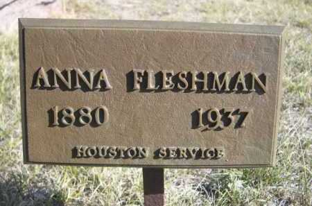 FLESHMAN, ANNA - Dawes County, Nebraska   ANNA FLESHMAN - Nebraska Gravestone Photos
