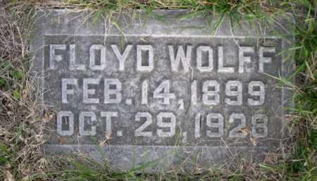 FLOYD, WOLFF - Dawes County, Nebraska | WOLFF FLOYD - Nebraska Gravestone Photos