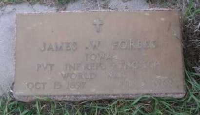 FORBES, JAMES W - Dawes County, Nebraska | JAMES W FORBES - Nebraska Gravestone Photos