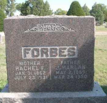 FORBES, J. HARLAN - Dawes County, Nebraska   J. HARLAN FORBES - Nebraska Gravestone Photos
