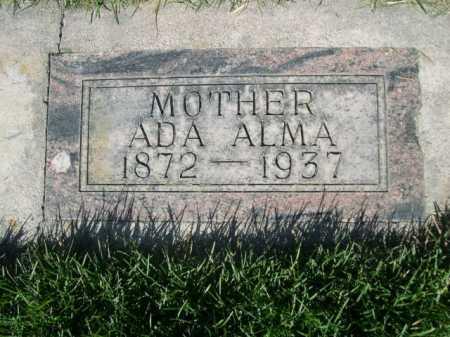 FORD, ADA ALMA - Dawes County, Nebraska | ADA ALMA FORD - Nebraska Gravestone Photos