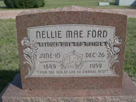 FORD, NELLIE MAE - Dawes County, Nebraska | NELLIE MAE FORD - Nebraska Gravestone Photos