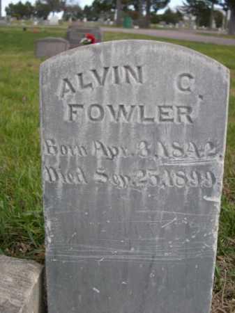 FOWLER, ALVIN C. - Dawes County, Nebraska | ALVIN C. FOWLER - Nebraska Gravestone Photos