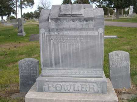 FOWLER, FAMILY - Dawes County, Nebraska | FAMILY FOWLER - Nebraska Gravestone Photos