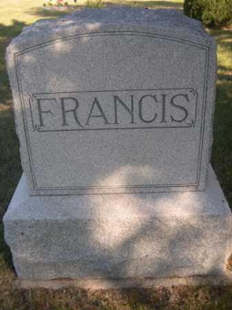 FRANCIS, FAMILY - Dawes County, Nebraska | FAMILY FRANCIS - Nebraska Gravestone Photos