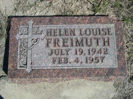 FREIMUTH, HELEN LOUISE - Dawes County, Nebraska | HELEN LOUISE FREIMUTH - Nebraska Gravestone Photos