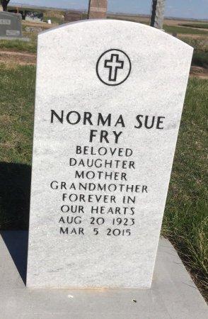 FRY, NORMA SUE - Dawes County, Nebraska | NORMA SUE FRY - Nebraska Gravestone Photos