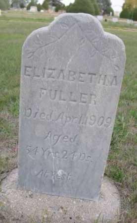 FULLER, ELIZABETH A. - Dawes County, Nebraska   ELIZABETH A. FULLER - Nebraska Gravestone Photos