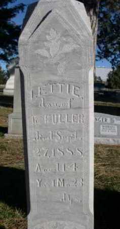 FULLER, LETTIE - Dawes County, Nebraska | LETTIE FULLER - Nebraska Gravestone Photos