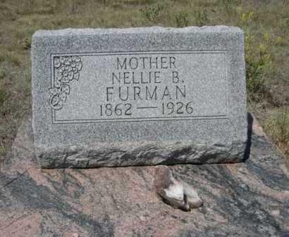 FURMAN, NELLIE B. - Dawes County, Nebraska   NELLIE B. FURMAN - Nebraska Gravestone Photos