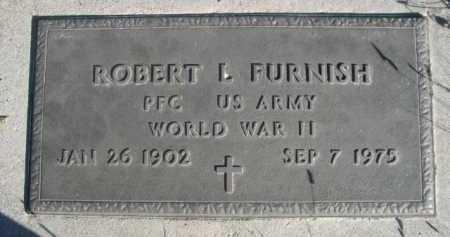 FURNISH, ROBERT L. - Dawes County, Nebraska   ROBERT L. FURNISH - Nebraska Gravestone Photos