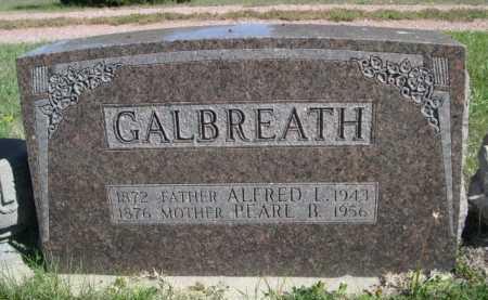 GALBREATH, ALFRED L. - Dawes County, Nebraska   ALFRED L. GALBREATH - Nebraska Gravestone Photos