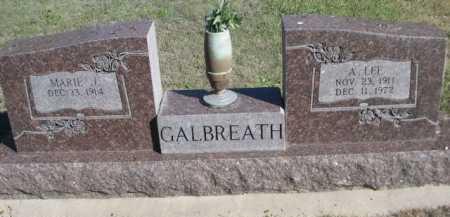GALBREATH, A. LEE - Dawes County, Nebraska | A. LEE GALBREATH - Nebraska Gravestone Photos