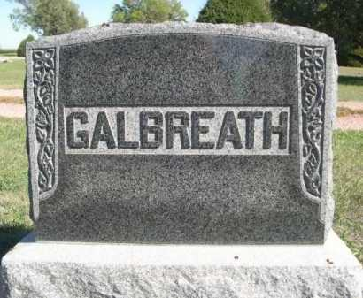 GALBREATH, FAMILY - Dawes County, Nebraska | FAMILY GALBREATH - Nebraska Gravestone Photos