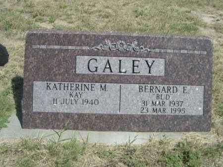 "GALEY, BERNARD F. ""BUD"" - Dawes County, Nebraska | BERNARD F. ""BUD"" GALEY - Nebraska Gravestone Photos"