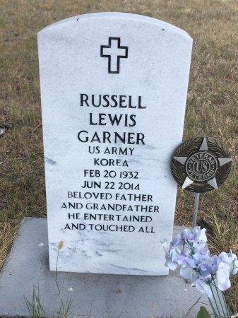 GARNER, RUSSELL LEWIS - Dawes County, Nebraska | RUSSELL LEWIS GARNER - Nebraska Gravestone Photos