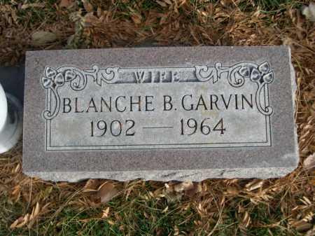 GARVIN, BLANCHE B. - Dawes County, Nebraska | BLANCHE B. GARVIN - Nebraska Gravestone Photos