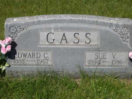 GASS, SUE V. - Dawes County, Nebraska | SUE V. GASS - Nebraska Gravestone Photos