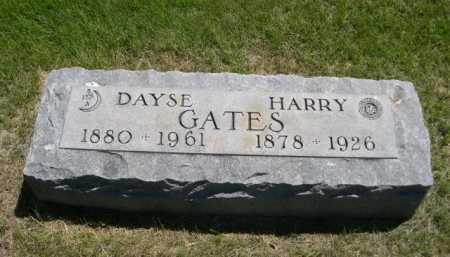 GATES, DAYSE - Dawes County, Nebraska | DAYSE GATES - Nebraska Gravestone Photos