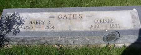 GATES, HARRY R. - Dawes County, Nebraska | HARRY R. GATES - Nebraska Gravestone Photos
