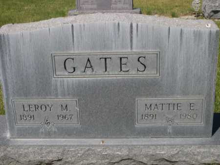 GATES, MATTIE E. - Dawes County, Nebraska | MATTIE E. GATES - Nebraska Gravestone Photos