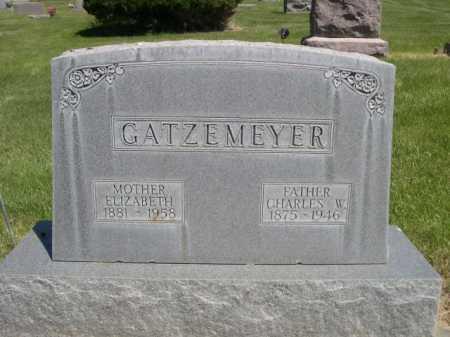 GATZEMEYER, CHARLES W. - Dawes County, Nebraska | CHARLES W. GATZEMEYER - Nebraska Gravestone Photos