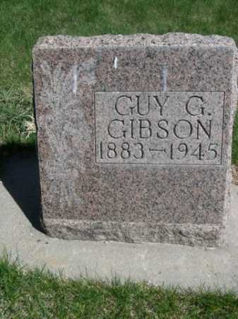GIBSON, GUY G. - Dawes County, Nebraska | GUY G. GIBSON - Nebraska Gravestone Photos