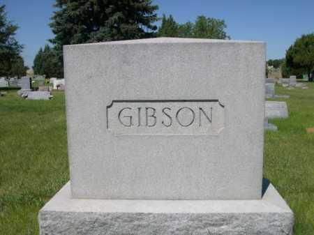 GIBSON, FAMILY - Dawes County, Nebraska   FAMILY GIBSON - Nebraska Gravestone Photos