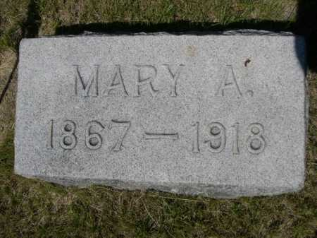 GIBSON, MARY A. - Dawes County, Nebraska   MARY A. GIBSON - Nebraska Gravestone Photos