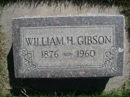 GIBSON, WILLIAM H. - Dawes County, Nebraska | WILLIAM H. GIBSON - Nebraska Gravestone Photos