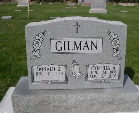 GILMAN, CYNTHIA A. - Dawes County, Nebraska | CYNTHIA A. GILMAN - Nebraska Gravestone Photos