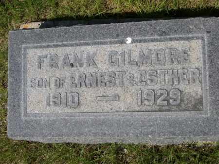 GILMORE, FRANK - Dawes County, Nebraska   FRANK GILMORE - Nebraska Gravestone Photos
