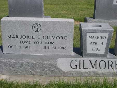 GILMORE, MARJORIE E. - Dawes County, Nebraska | MARJORIE E. GILMORE - Nebraska Gravestone Photos