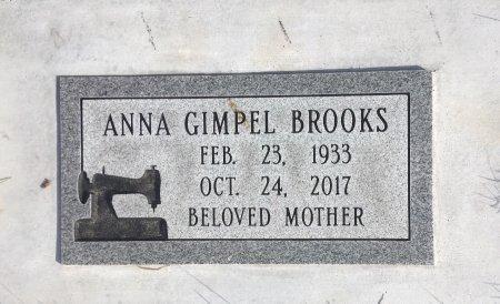 GIMPEL BROOKS, ANNA MAE - Dawes County, Nebraska | ANNA MAE GIMPEL BROOKS - Nebraska Gravestone Photos
