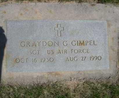 GIMPEL, GRAYDON G. - Dawes County, Nebraska | GRAYDON G. GIMPEL - Nebraska Gravestone Photos