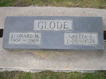 GLODE, GRETTA P. - Dawes County, Nebraska   GRETTA P. GLODE - Nebraska Gravestone Photos
