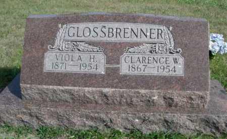 GLOSSBRENNER, VIOLA H. - Dawes County, Nebraska   VIOLA H. GLOSSBRENNER - Nebraska Gravestone Photos