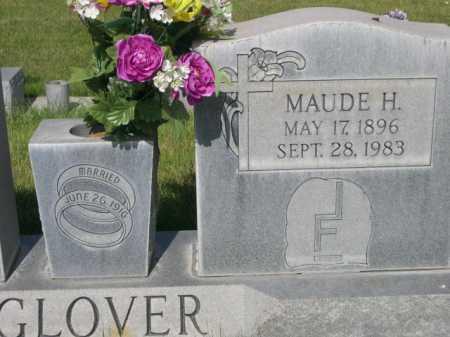 GLOVER, MAUDE H. - Dawes County, Nebraska   MAUDE H. GLOVER - Nebraska Gravestone Photos