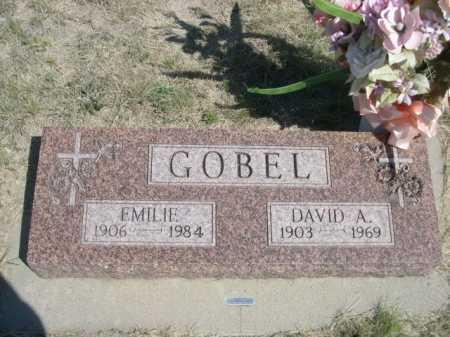 GOBEL, DAVID A. - Dawes County, Nebraska | DAVID A. GOBEL - Nebraska Gravestone Photos