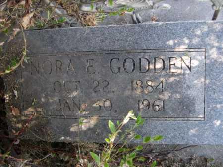 GODDEN, NORA E. - Dawes County, Nebraska   NORA E. GODDEN - Nebraska Gravestone Photos