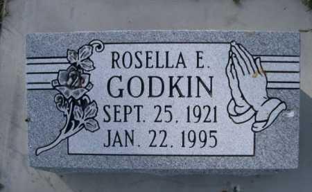 GODKIN, ROSELLA E. - Dawes County, Nebraska | ROSELLA E. GODKIN - Nebraska Gravestone Photos