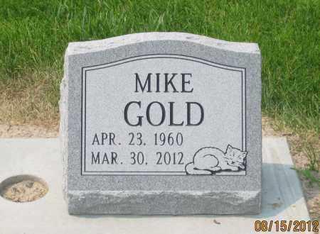"GOLD, MICHAEL ALAN  ""MIKE"" - Dawes County, Nebraska | MICHAEL ALAN  ""MIKE"" GOLD - Nebraska Gravestone Photos"