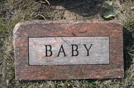 GOLDEN, BABY - Dawes County, Nebraska   BABY GOLDEN - Nebraska Gravestone Photos